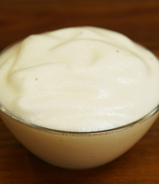 Mayonnaise vegan à l'aquafaba