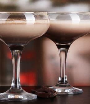Cocktail dessert forêt noire