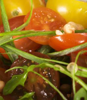 Comment couper des tomates cerises