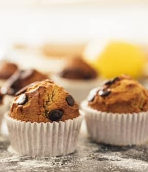 Muffins bananes et chocolat