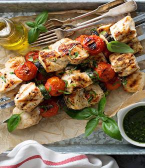 TOP : 10 recettes de brochettes au poulet sur le BBQ