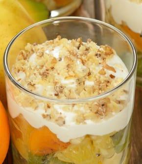 salade de fruits au mascarpone