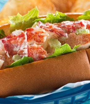 lobster rolls (guédilles de homard)