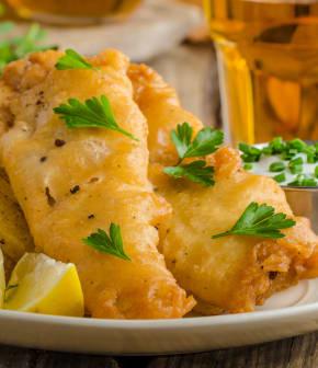 fish and chips de Daniel Vézina