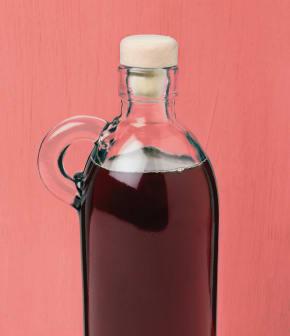 sauce à l'érable et au vin doux liquoreux