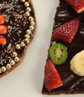 pizza au chocolat de Juliette