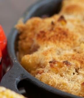 macaroni au fromage sur le BBQ