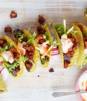 les meilleurs tacos au porc