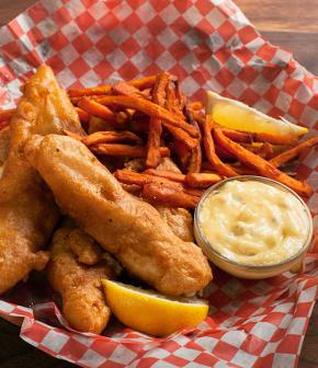 « Fish and Chips » aux épices