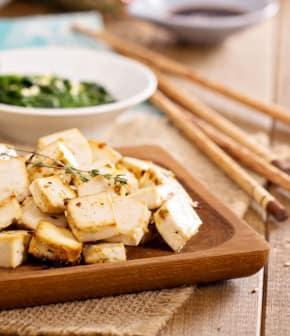 tofu aux légumes à la japonaise