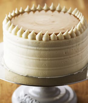 gâteau d'anniversaire au caramel