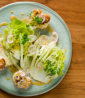 salade de Boston aux fruits de mer