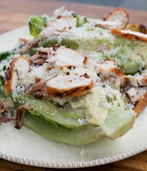 salade césar sur le gril