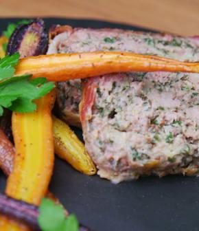 pain de viande au bacon