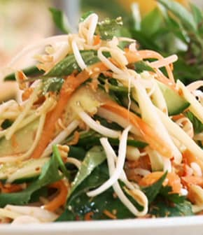 salade vietnamienne au Nuoc Nam