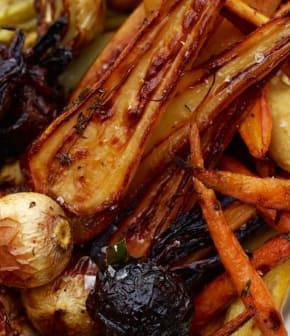 mélange de légumes rôtis
