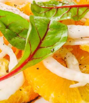 salade aux haricots blancs et à la grenade de Janella
