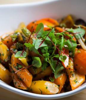 carottes braisées à la crème