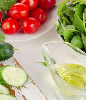 salade libanaise de tomates et concombres au sumac