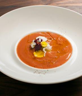 gaspacho tomates et fraises