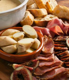 fondue au fromage à l'Alexander