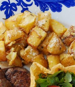 pommes de terre au parmesan