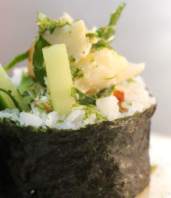 maki « guédille » au homard