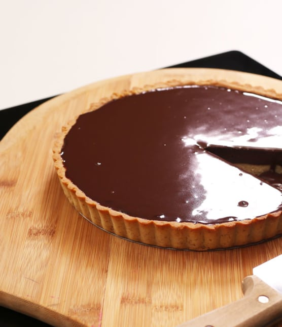 Recette facile de tarte au chocolat