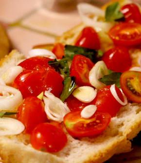 tartine de panzanella