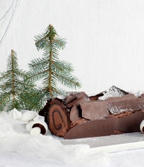 TOP : 8 recettes de bûches de Noël délicieuses