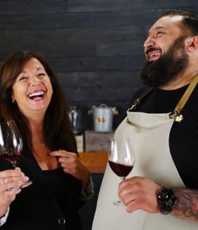 Les accords mets et vins d'Italie avec Nathalie Richard et Vianney Godbout