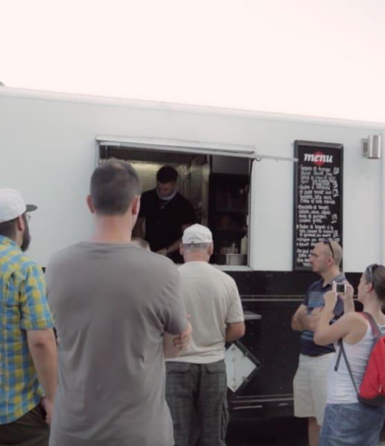 Food truck Le point sans g