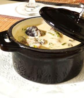 Cassolette d'escargots lutece