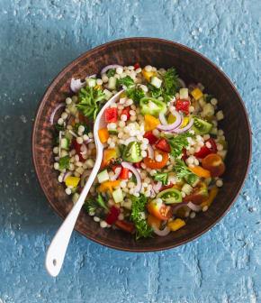 TOP : 10 recettes de couscous pour les lunchs santé!