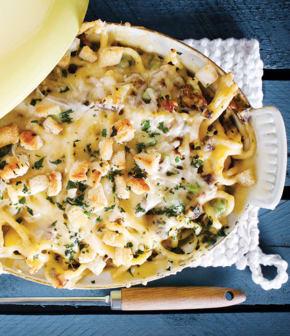 macaroni de luxe aux vieux fromages