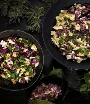 Salade de chou crémeuse et traditionnelle