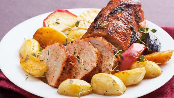 Filets de porc à la toscane