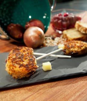 Comment présenter des grilled cheese façon suçon