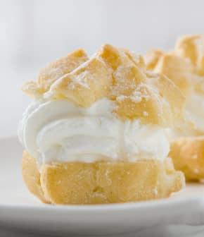Ganache montée à la vanille