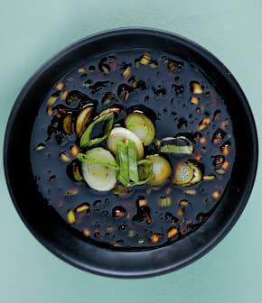 Sauce asiatique pour huîtres