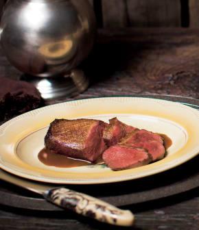 magrets de canard, sauce au thé Earl Grey