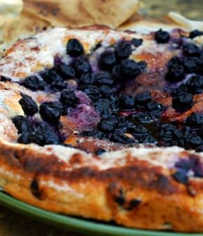 torta d'uva (Tarte aux raisins)
