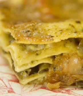 lasagnes au pesto
