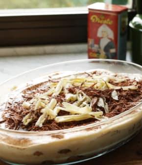 tiramisu au duo de chocolat
