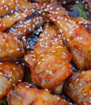 ailes de poulet aigres-douces
