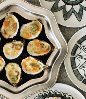huîtres chaudes au céleri