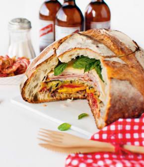 sandwich pic-nic aux légumes grillés