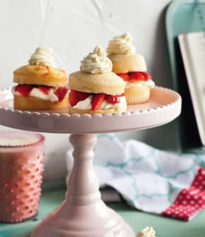 shortcake fraises, érable et chocolat blanc