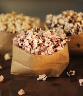 popcorn 3 façons