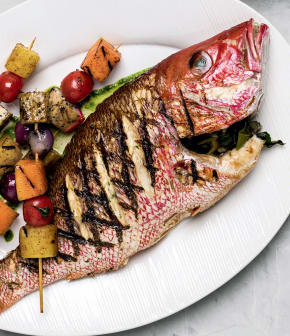 poisson grillé façon « retour de Thaïlande »